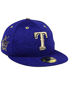 New Era Texas Rangers 2017 All Star Game Patch 59FIFTY Fitted Cap