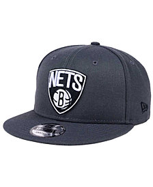 New Era Brooklyn Nets Solid Alternate 9FIFTY Snapback Cap