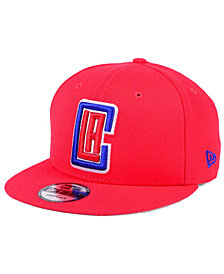 New Era Los Angeles Clippers Solid Alternate 9FIFTY Snapback Cap