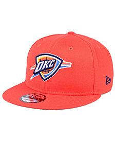 New Era Oklahoma City Thunder Solid Alternate 9FIFTY Snapback Cap