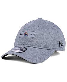 New Era Miami Marlins Clear Patch 9TWENTY Strapback Cap