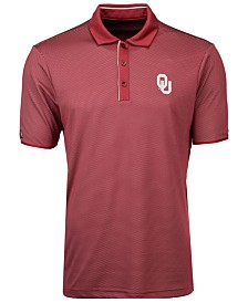 Antigua Men's Oklahoma Sooners Draft Polo