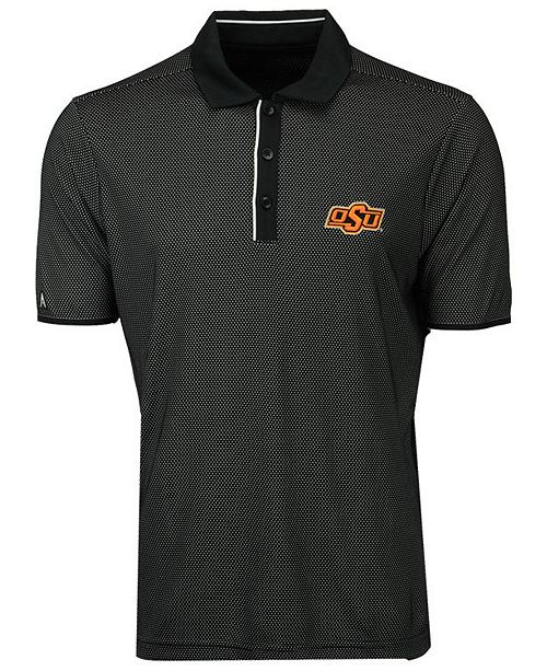 Antigua Men's Oklahoma State Cowboys Draft Polo