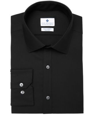 Men's Ultimate Slim-Fit Non-Iron Performance Stretch Dress Shirt, Created for Macy's