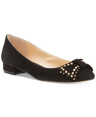 Vince Camuto Annaley Studded Ballet Bow Flats