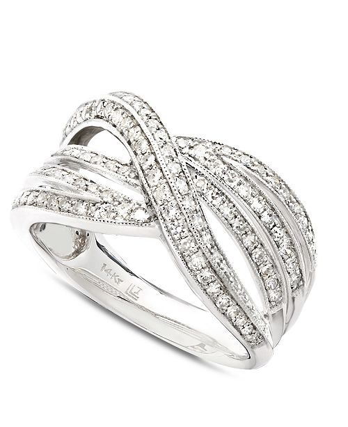 bands images rings diamond promise ringdiamond on wedding crossover band pinterest best stone