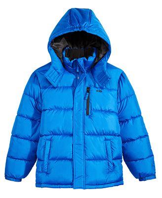 Cb Sports Hooded Puffer Coat Big Boys Coats Amp Jackets