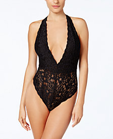 Free People Avery Sheer Lace Bodysuit OB646902