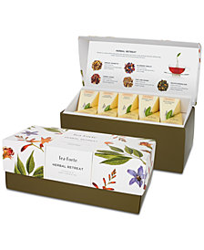 Tea Forte Herbal Retreat Presentation Box