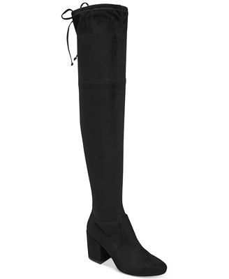 Bar III Georgia Over-The-Knee Boots, Created for Macy's