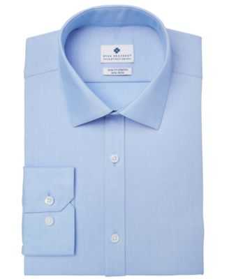 Men's Ultimate Slim-Fit Non-Iron Performance Dobby Dress Shirt, Created for Macy's