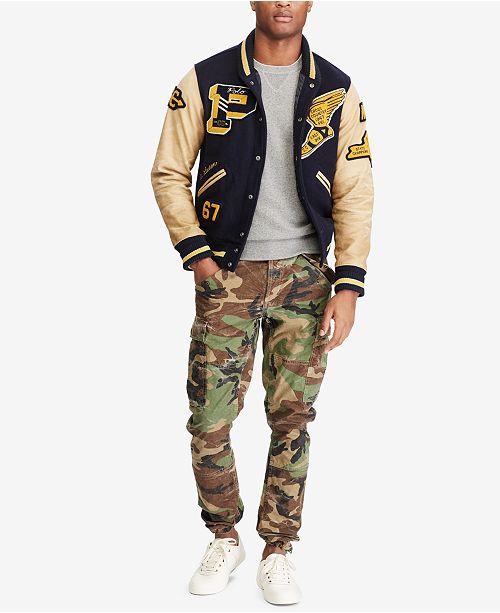 d0f04eaa81303 Polo Ralph Lauren Men's Camo Cargo Pants & Reviews - Pants - Men ...