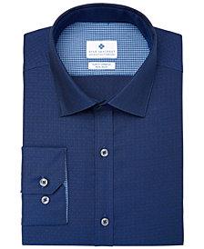 Ryan Seacrest Distinction™ Men's Slim-Fit Stretch Non-Iron Performance Pin Dot Dress Shirt, Created for Macy's