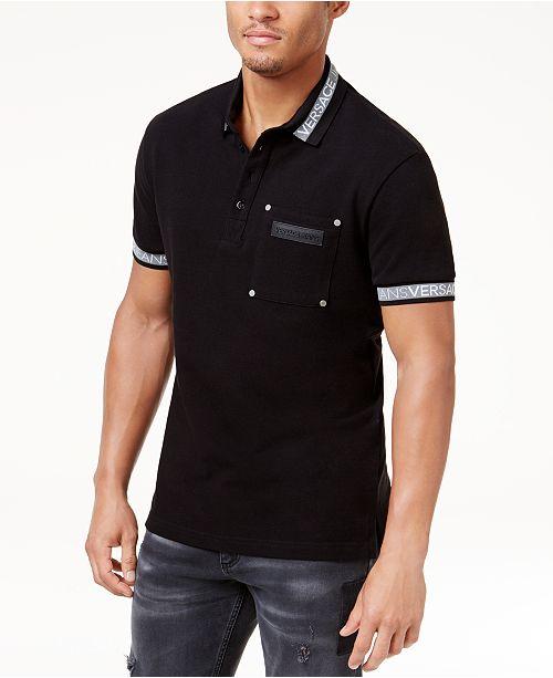 801ef22d522769 Versace Jeans Men's Logo Polo & Reviews - T-Shirts - Men - Macy's