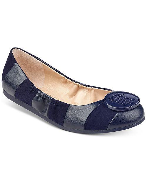 fcd35f4b6480 Tommy Hilfiger Emi Ballet Flats   Reviews - Flats - Shoes - Macy s