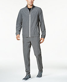 ID Ideology Woven Track Jacket & Tapered Pants, Created for Macy's
