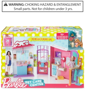 Mattels Barbie Pet Care Center