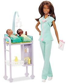 Barbie Mattel's Baby Doctor Doll & Playset