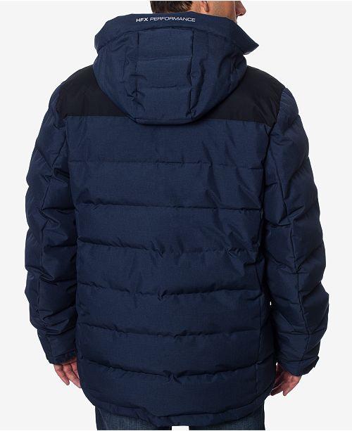 Halifax HFX Men s Colorblocked Hooded Ski Jacket   Reviews - Coats ... 48ab01daf