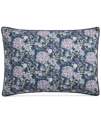 CLOSEOUT! Iridescent Peony Quilted Standard Sham, Created for Macy's
