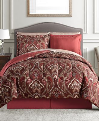 Norfolk 8 Pc. Reversible Comforter Sets