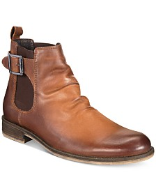 Barr Iii Men S Nelson Chelsea Buckle Boots Created For Macy