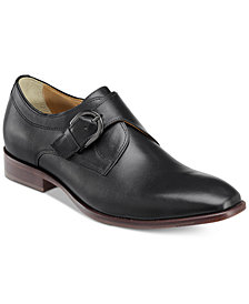 Johnston & Murphy Men's McClain Monk Strap Slip-on Loafers