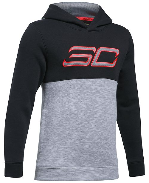 buy online 8c1b5 823f3 Under Armour Steph Curry SC30 Fleece Hoodie, Big Boys ...