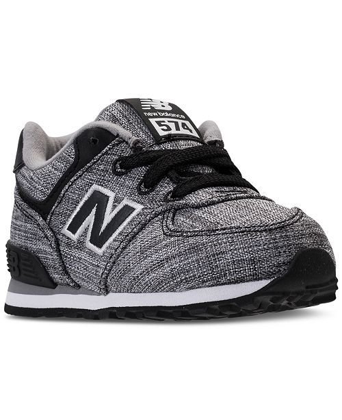 sports shoes 27cb9 48c20 ... New Balance Toddler Boys  574 Casual Sneakers from Finish ...