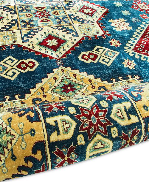Km Home Signature Nomad Kazak Area Rug Created For Macy S Rugs