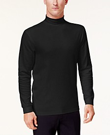 Men's Solid Mock-Neck Shirt, Created for Macy's