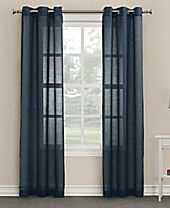 "Lichtenberg No. 918 Linda 40"" x 84"" Sheer Grommet Curtain Panel"