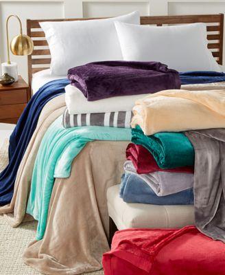 Classic Velvety Plush King Blanket