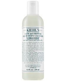 Kiehl's Since 1851 Bath & Shower Liquid Body Cleanser - Coriander, 8.4-oz.