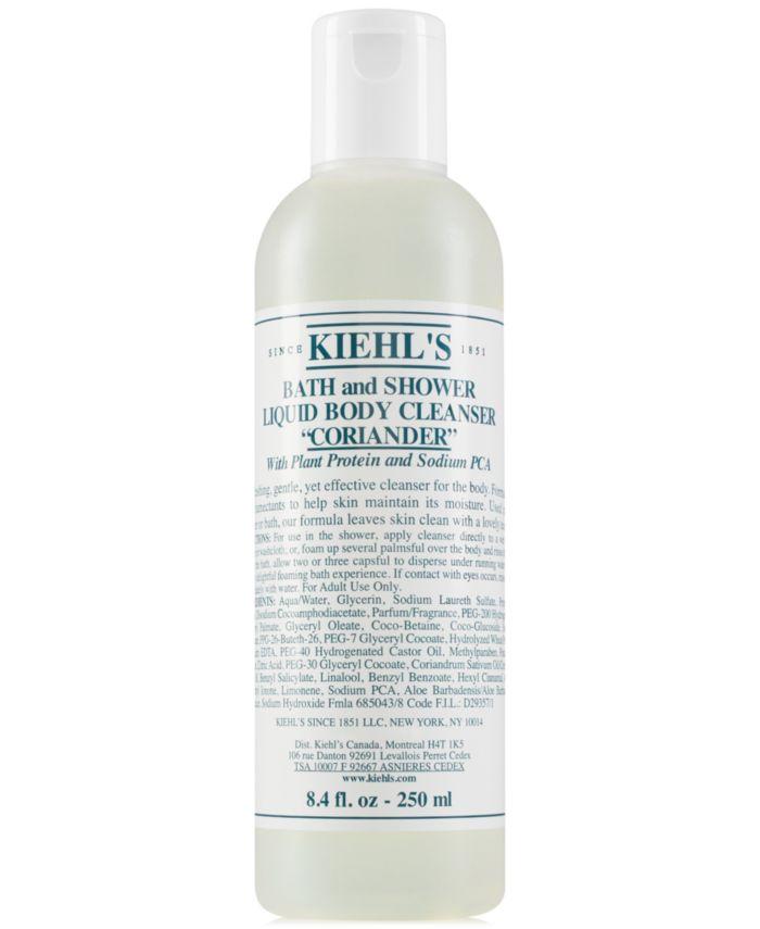 Kiehl's Since 1851 Bath & Shower Liquid Body Cleanser - Coriander, 8.4-oz. & Reviews - Skin Care - Beauty - Macy's