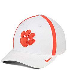 Nike Clemson Tigers Aerobill Classic Sideline Swoosh Flex Cap