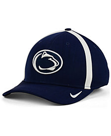 Nike Penn State Nittany Lions Aerobill Classic Sideline Swoosh Flex Cap
