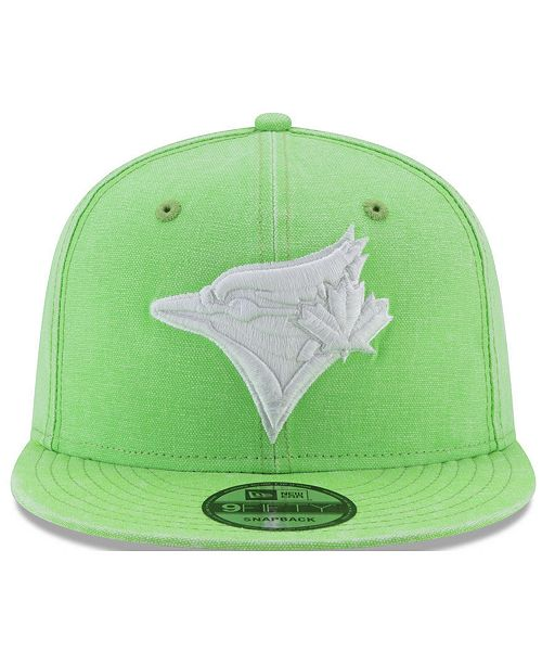 check out 42cb9 1d855 New Era. Toronto Blue Jays Neon Time 9FIFTY Snapback Cap
