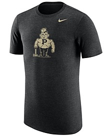Men's Purdue Boilermakers Vault Logo Tri-Blend T-Shirt