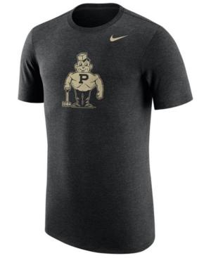 Nike Men's Purdue Boilermakers Vault Logo Tri-Blend T-Shirt