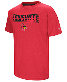 Colosseum Louisville Cardinals Head Start T-Shirt, Big Boys (8-20)