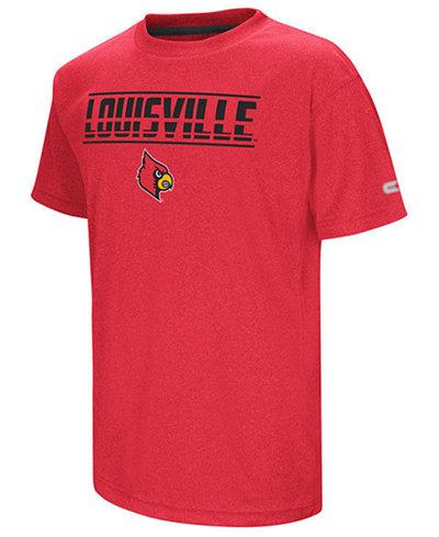 Colosseum Louisville Cardinals Head Start T-Shirt, Big Boys (8-20)