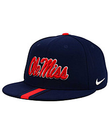 Nike Ole Miss Rebels Sideline True Snapback Cap