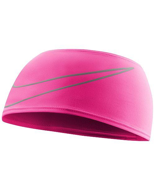 Nike Dri-FIT Running Headband - Women s Brands - Women - Macy s 51697db9943