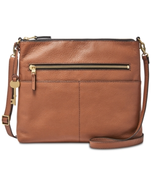 Fossil  FIONA LARGE LEATHER CROSSBODY