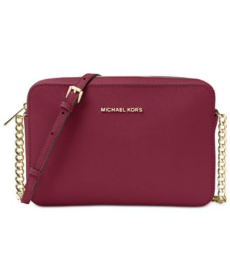 michael kors jet set travel large crossbody handbags accessories rh macys com
