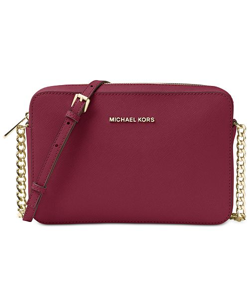 d3cb460c687 Michael Kors Jet Set Travel Large Crossbody - Handbags   Accessories ...