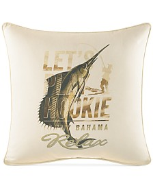 "Tommy Bahama Home Nador 20"" Square Decorative Pillow"