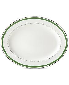 kate spade new york Union Square Green Platter
