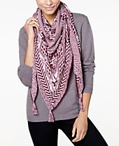 I.N.C. Outwest Knit Triangle Scarf, Created for Macy's